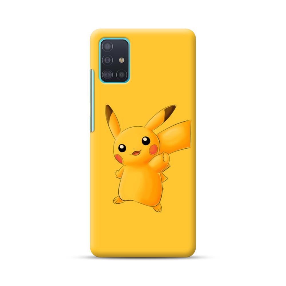Pikachu Pokemon Samsung Galaxy A51 Case Caseformula