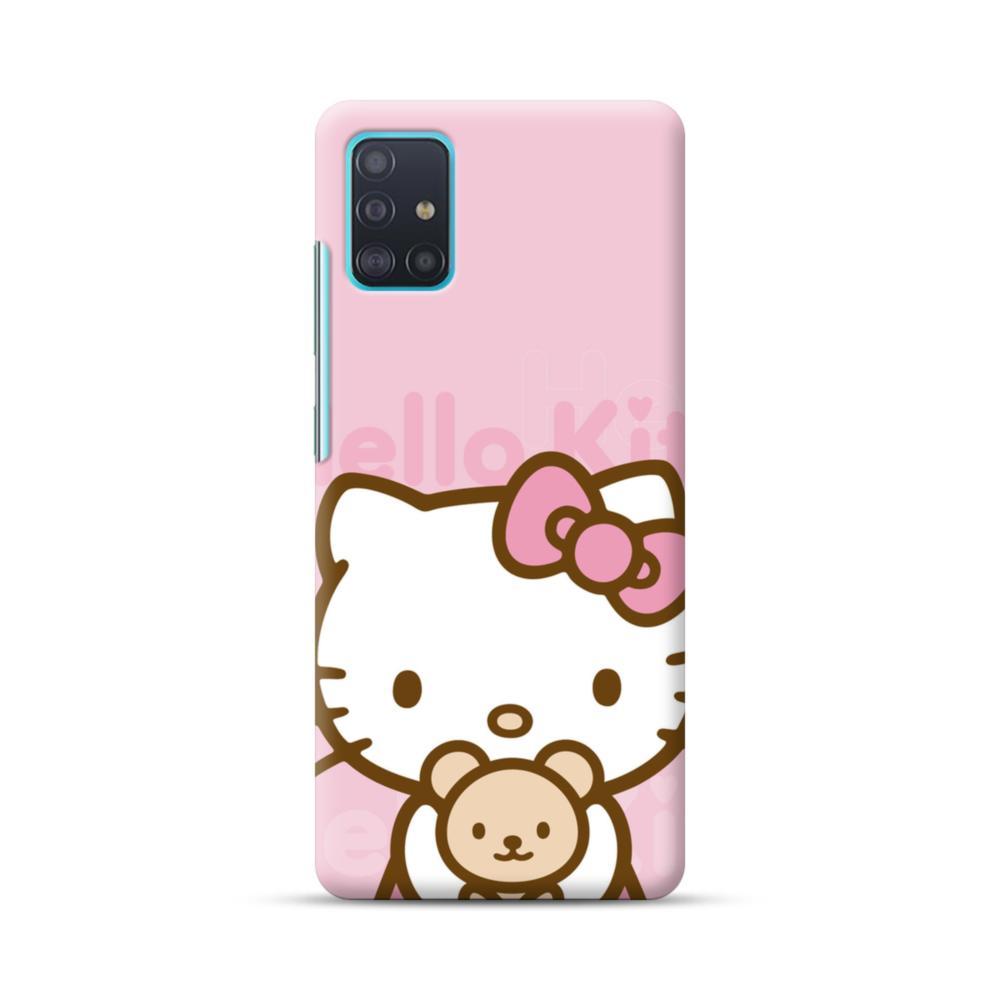 Pink Hello Kitty Samsung Galaxy A51 Case Caseformula