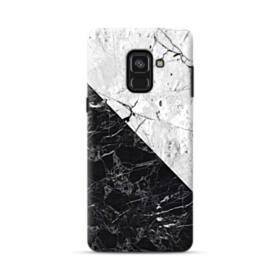 Black & White Marble  Samsung Galaxy A8 (2018) Case