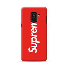 Red Supreme Samsung Galaxy A8 (2018) Case