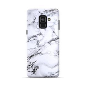 White Marble Samsung Galaxy A8 (2018) Case