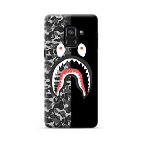 Bape Shark Camo & Black Samsung Galaxy A8 (2018) Case
