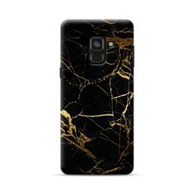 Black & Gold Marble Samsung Galaxy A8 (2018) Case