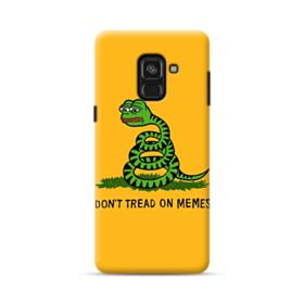 Pepe the frog don't tread on memes Samsung Galaxy A8 Plus (2018) Case