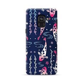 Fish Illustration Samsung Galaxy A8 Plus (2018) Case