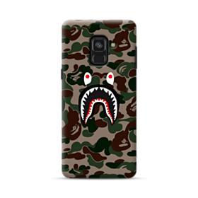 Bape shark camo print Samsung Galaxy A8 Plus (2018) Case