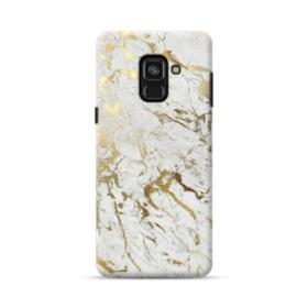 Gold Leaf Marble Samsung Galaxy A8 Plus (2018) Case