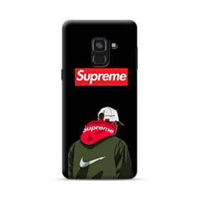 Supreme x Nike Hoodie Samsung Galaxy A8 Plus (2018) Case