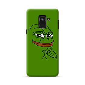Smug Pepe Frog Funny Meme Samsung Galaxy A8 Plus (2018) Case