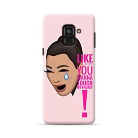 Crying Kim emoji kimoji meme  Samsung Galaxy A8 Plus (2018) Case