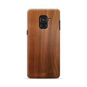 Red Oak Wood Samsung Galaxy A8 Plus (2018) Case