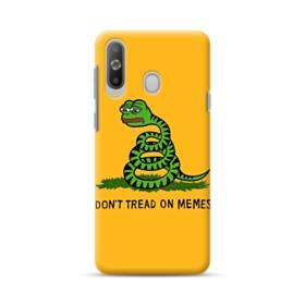 Pepe the frog don't tread on memes Samsung Galaxy A8s Case