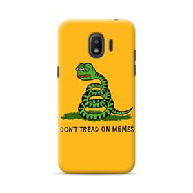 Pepe the frog don't tread on memes Samsung Galaxy J2 (2018) Case