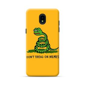 Pepe the frog don't tread on memes Samsung Galaxy J3 2018 Case