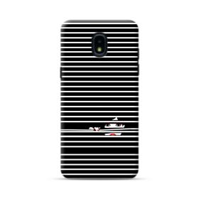 Girl Behind The Blinds Samsung Galaxy J3 2018 Case