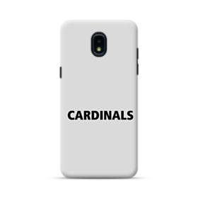 Cardinals Logo Gray Samsung Galaxy J3 2018 Case