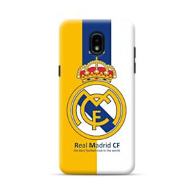 Real Madrid Team Logo Colors Samsung Galaxy J3 2018 Case
