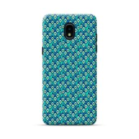 Green Peacock Samsung Galaxy J3 2018 Case