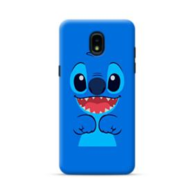 Stitch Smiling Face Samsung Galaxy J3 2018 Case