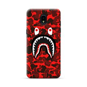 Bape Logo Red Camo Samsung Galaxy J3 2018 Case