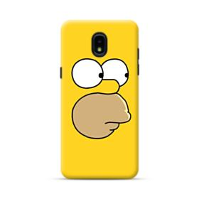 The Simpsons Face Samsung Galaxy J3 2018 Case