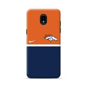 Denver Broncos x Nike Orange Blue Samsung Galaxy J3 2018 Case