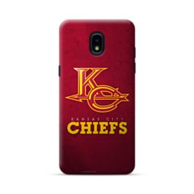 Kansas City Chiefs Logo Grunge Samsung Galaxy J3 2018 Case