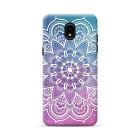 Mix-colored Mandala Flower Pattern Samsung Galaxy J3 2018 Case