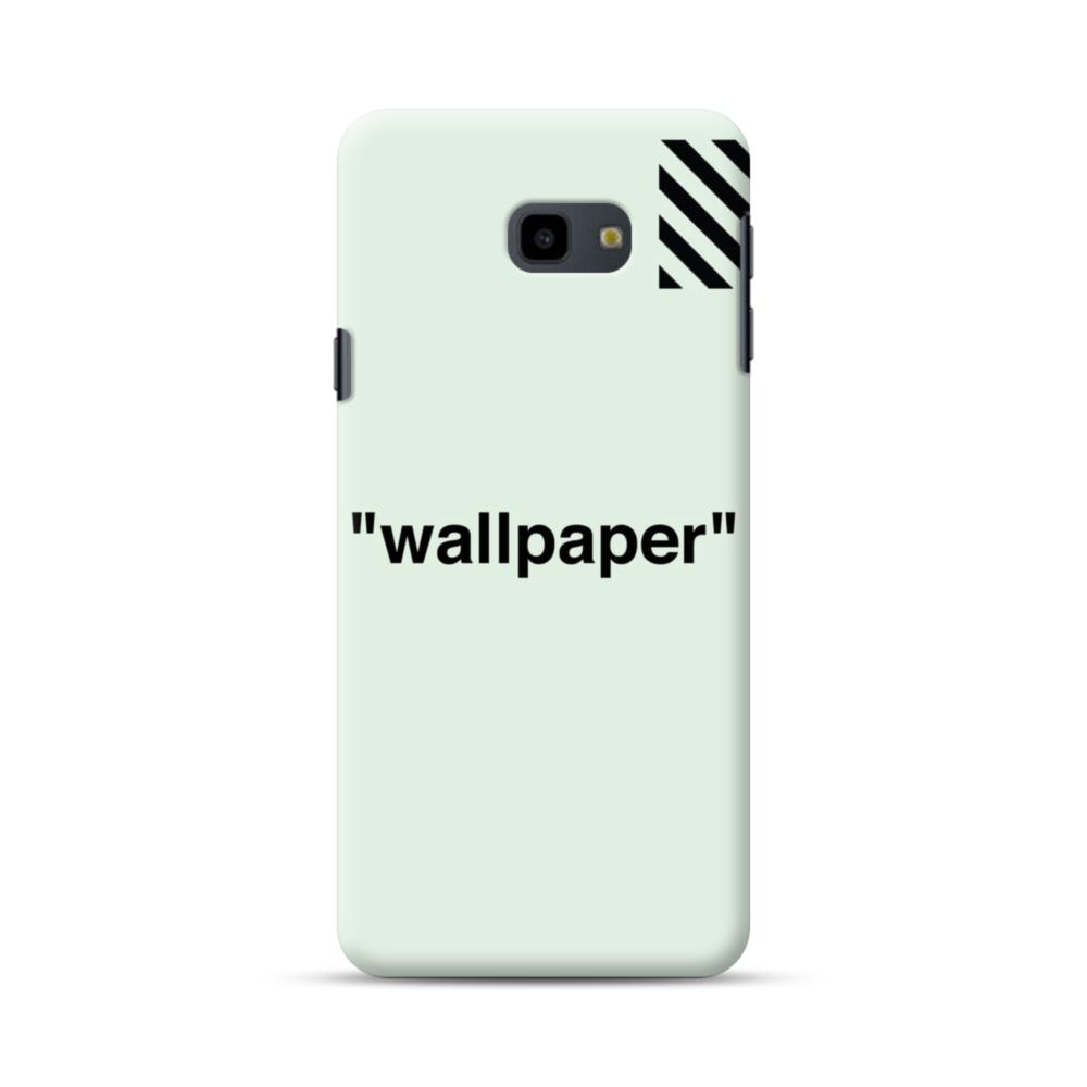 Wallpaper Stripes Minimalism Samsung Galaxy J4 Plus 2018 Case Caseformula