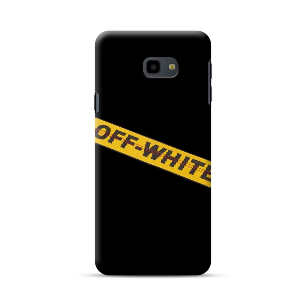 Off White Lining Samsung Galaxy J4 Plus 2018 Case Caseformula