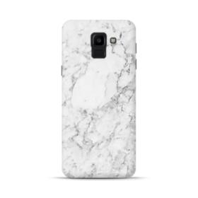 White Marble Samsung Galaxy J6 (2018) Case
