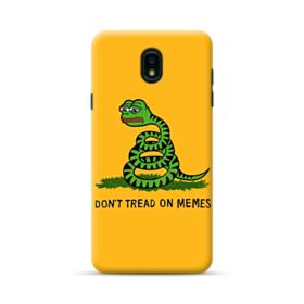 Pepe the frog don't tread on memes Samsung Galaxy J7 2018 Case