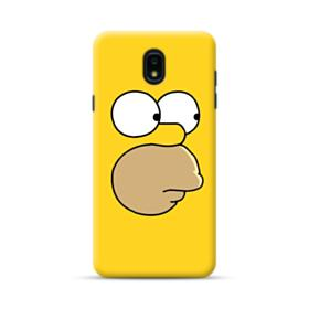 The Simpsons Face Samsung Galaxy J7 2018 Case