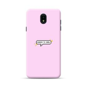 Daddy's Girl Quote Samsung Galaxy J7 2018 Case