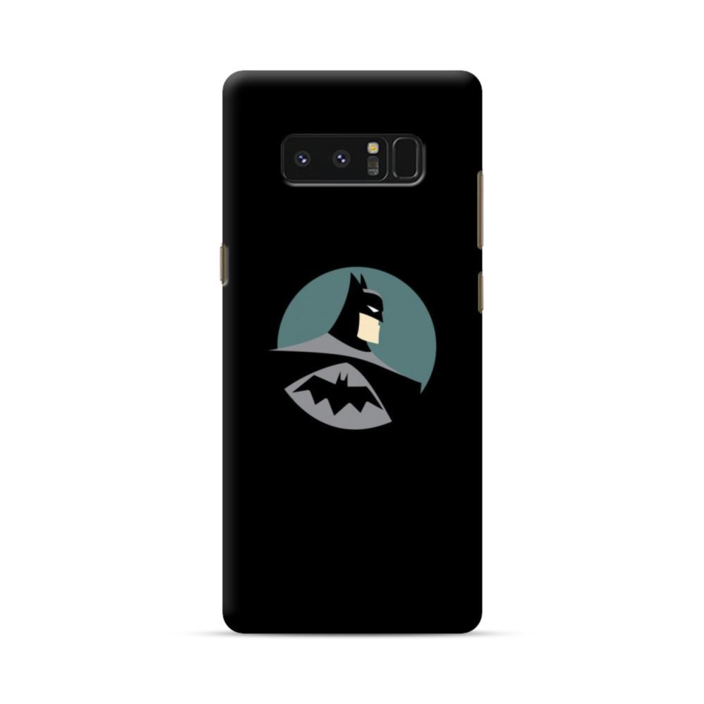promo code 1851e 19abb Batman Minimalism Portrait Samsung Galaxy Note 8 Case