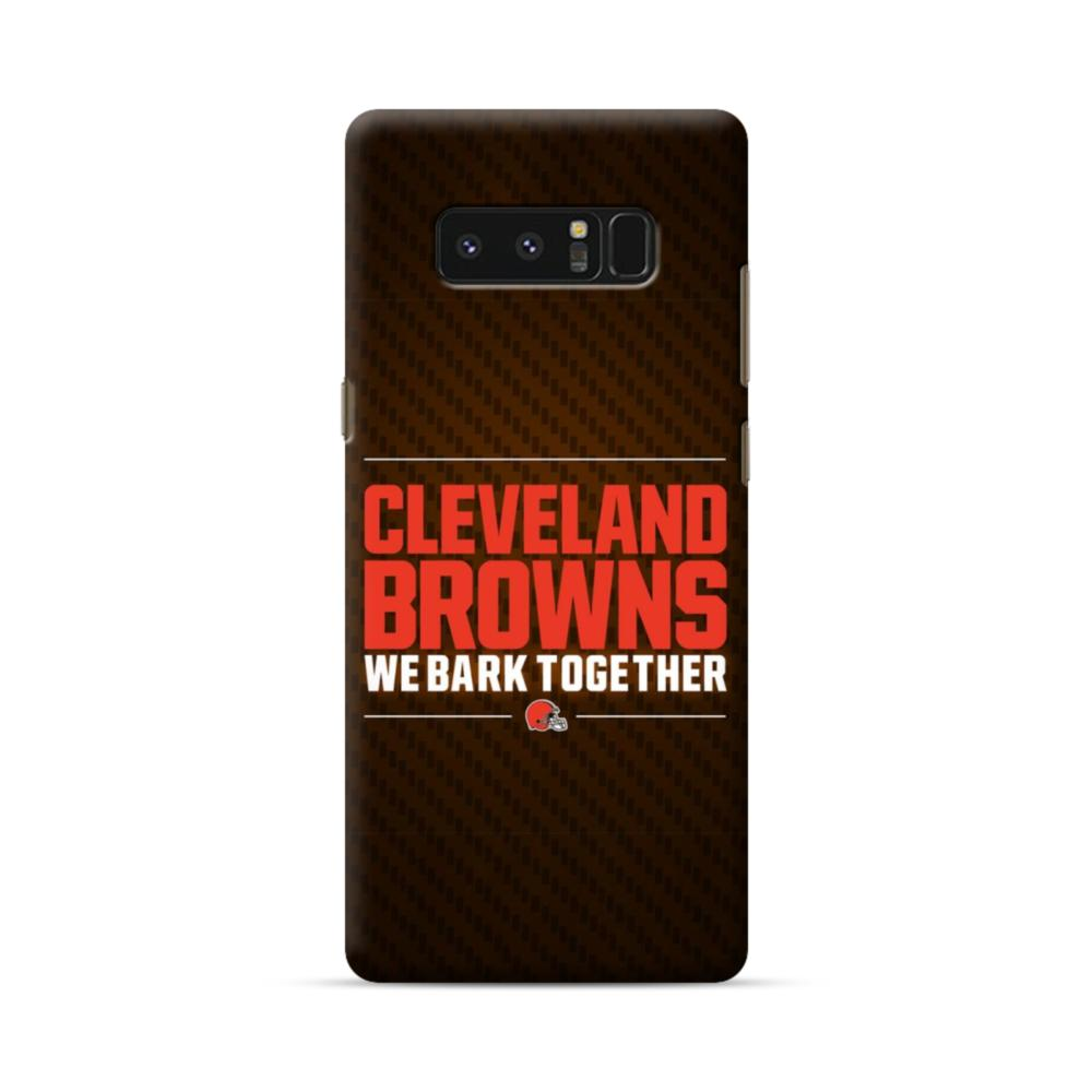 Cleveland Browns We Bark Together Samsung Galaxy Note 8 Case