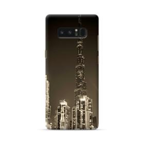 City night skyline Samsung Galaxy Note 8 Case