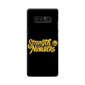 Strength Numbers Golden State Samsung Galaxy Note 8 Case