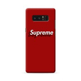 Supreme Red Cover Samsung Galaxy Note 8 Case