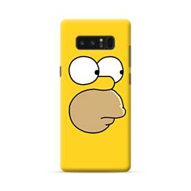 The Simpsons Face Samsung Galaxy Note 8 Case