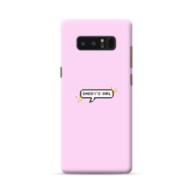 Daddy's Girl Quote Samsung Galaxy Note 8 Case