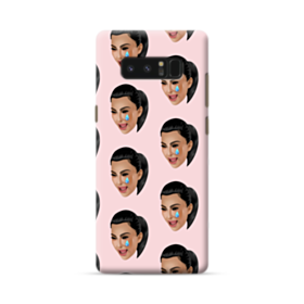 Crying Kim emoji kimoji seamless Samsung Galaxy Note 8 Case
