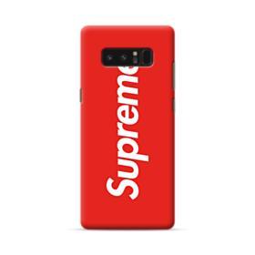 Red Supreme Samsung Galaxy Note 8 Case