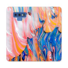 Abstract Art Samsung Galaxy Note 9 Wallet Case