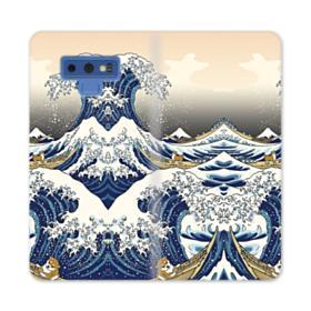 Waves Samsung Galaxy Note 9 Wallet Case