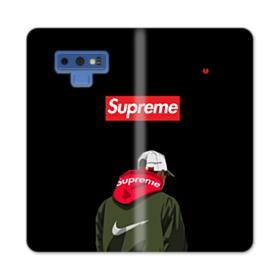 Supreme x Nike Hoodie Samsung Galaxy Note 9 Wallet Case