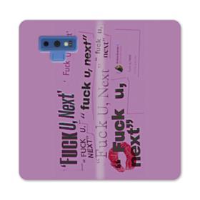 Thank U, Next Ariana Grande Samsung Galaxy Note 9 Wallet Case