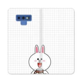 Line Friends Cony Samsung Galaxy Note 9 Wallet Case