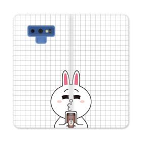 Line Friends Cony in Love Samsung Galaxy Note 9 Wallet Case