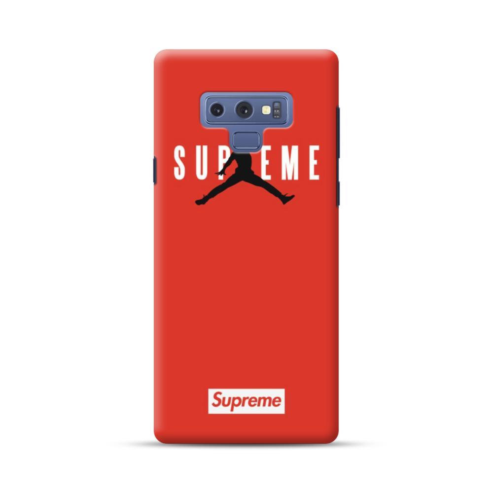 cheap for discount 6e9a0 a6720 Supreme x Jordan Samsung Galaxy Note 9 Case